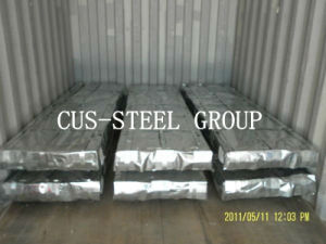 Ethiopia SGS Shinny Zinc Coated Steel Sheet/Galvanized Corrugated Roofing Sheet pictures & photos