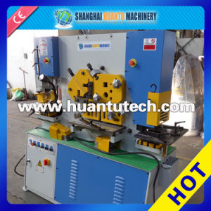 Hydraulic Iron Worker (combined punching and shearing machine) pictures & photos