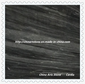 Black, Grey and Dark Marble Tile for Room Decoration pictures & photos