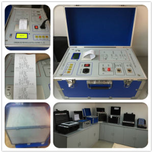 Insulation Tools Dielectric Loss Tan Delta Tester pictures & photos