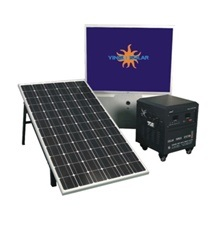 Mini Ready Made Portable Solar Power System (SZYL-SPS-200) pictures & photos