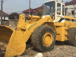 Secondhand Loader Kawasaki Kld85z Wheel Loader pictures & photos