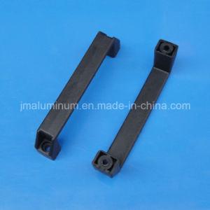 L=180mm Nylon Black U-Shape Handle with 8.0mm Screws pictures & photos