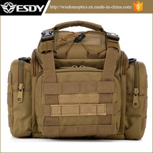 Tan Color Tactical Military Outdoor Hunting Shoulder Bag pictures & photos