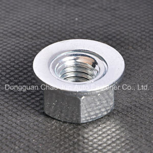Carbon Steel Hex Disc Nut Zinc Plated