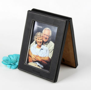 Double-Faced Leather Memorial Photo Frame pictures & photos