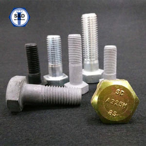 ASME Heavy Hex Structural Bolt A325 8s pictures & photos