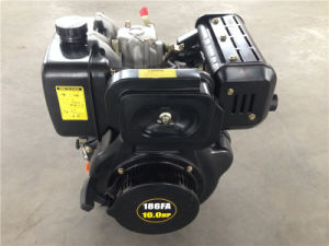 10HP 4-Stroke Air-Cooled Small Diesel Engine / Motor pictures & photos