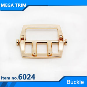 Zinc Alloy Light Gold Handbag Two Pin Roller Buckle pictures & photos