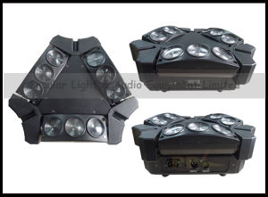 Moving Head LED 9PCS 10W Mini Spider Beam Light pictures & photos