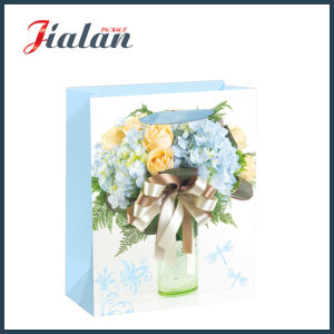 Factory Direct Wholesale Flowers Carrier Package Shopping Gift Paper Bags pictures & photos