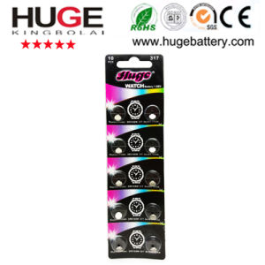 1.55V Watch Battery Silver Oxide Battery Sr516sw 317 pictures & photos