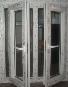 Aluminium Window with Mosquito Net for Africa pictures & photos