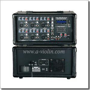 Hot Sale 2 Band EQ Mobile Power PA Amplifier (APM-0615BU) pictures & photos