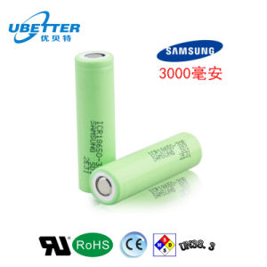 Samgsung Rechargeable 18650 Lithium Battery 3.7V Battery Power Battery pictures & photos