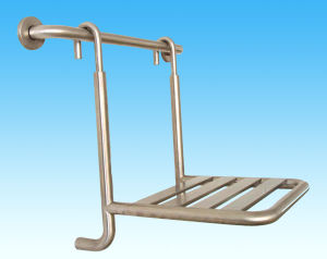 Manufacturers Direct Export to Europe and America Fashion Style Stainless Steel Shower Seat (08-002) pictures & photos
