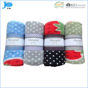 Wholesale 100%Polyester Printed Polar Fleece Blanket, Coral Fleece Blanket pictures & photos
