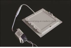 Aluminum Ultra Thin Square LED Panel Light pictures & photos