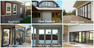 European Style Tilt and Turn UPVC Window pictures & photos