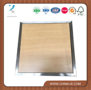 Wooden and Stainless Steel Display Table pictures & photos