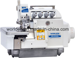 Wd-Ex5200d-3 Super High Speed Direct Drive Overlock Sewing Machine pictures & photos