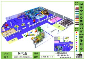 Kaiqi Large Indoor Soft Play Playground Set - Available in Many Colours (KQ20150330-TQBZ1000A) pictures & photos