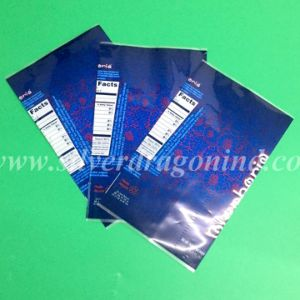 Plastic Heat Shrinkable Sleeve Label for Bottle Packing pictures & photos