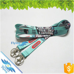 Heat Transfer Key Lanyards Polyester for Festival