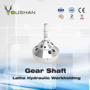 Gear Shaft Lathe Hydraulic Fixture pictures & photos