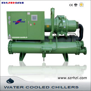 High Efficient Flooded Type Screw Water Cooled Chillers pictures & photos