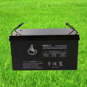 12V 200ah Mf VRLA Rechargeable Lead Acid UPS Battery
