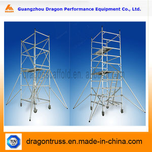Portable Step-Stair Scaffolding Material, Aluminum Scaffolding for Sale pictures & photos