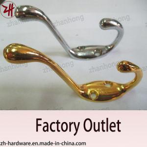 Zinc Alloy Beautiful Design Double Clothes Hanger Cat Hooks (ZH-2008)