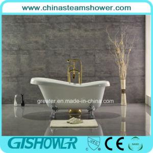 Oval Acrylic Freestanding Bathtub (KF-721A) pictures & photos