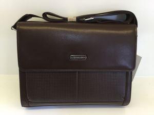 Guangzhou Supplier Designer Genuine Leather Men Business Attache Case Bag (8311-3) pictures & photos
