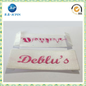 Custom Garment Woven Label with Laser Cutting (JP-CL067) pictures & photos