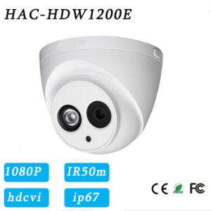 1080P Long IR Range Hdcvi HD Dome Security Camera{Hac-Hdw1200e} pictures & photos