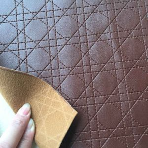 Different Pattern PVC Decorative Leather for Furniture pictures & photos
