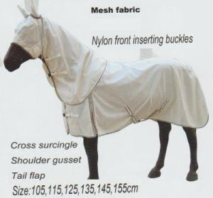 Horse Gear Fly Sheet Combo with Body Cover & Mesh Fabric pictures & photos