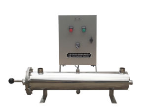 100gpm Stainless UV Sterilizers with Manual Cleaning System pictures & photos
