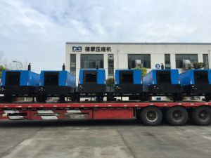 Portable Mobile Diesel Engine Rotary Screw Air Compressor for Mining pictures & photos