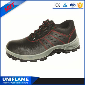 Breathable Steel Toe PU Sole Safety Work Shoes S1p pictures & photos