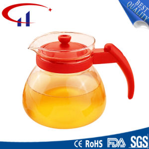 Handmade High-Quality Best-Sell Borosilicate Glass Teapot (CHT8058) pictures & photos
