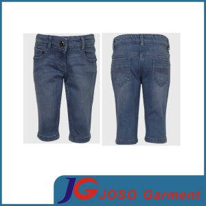 Kids Jeans Baby Clothing Half Jeans Boy Pants (JC8050) pictures & photos