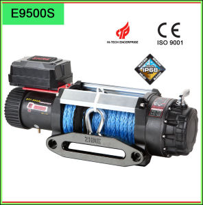 12V Heavy Duty Electric Winches with Synthetic Rope pictures & photos