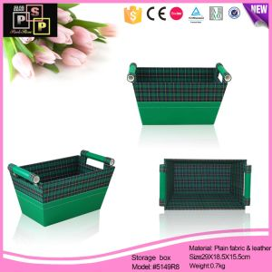 Fabric Basket Holder Magazine Holder (5149R8) pictures & photos