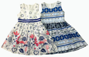 Flower Children Clothing for Girl Dress (SQD-135-138) pictures & photos