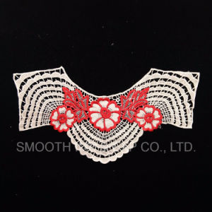 Hot Sale Embroidery Floral Mesh Lace Collar for Sewing Crafts pictures & photos