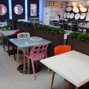 Acrylic Solid Surface Dining Furniture Chair Table pictures & photos