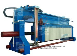 Leo Filter Press Fully Automatic Membrane Squeezing Sludge Filter Press pictures & photos